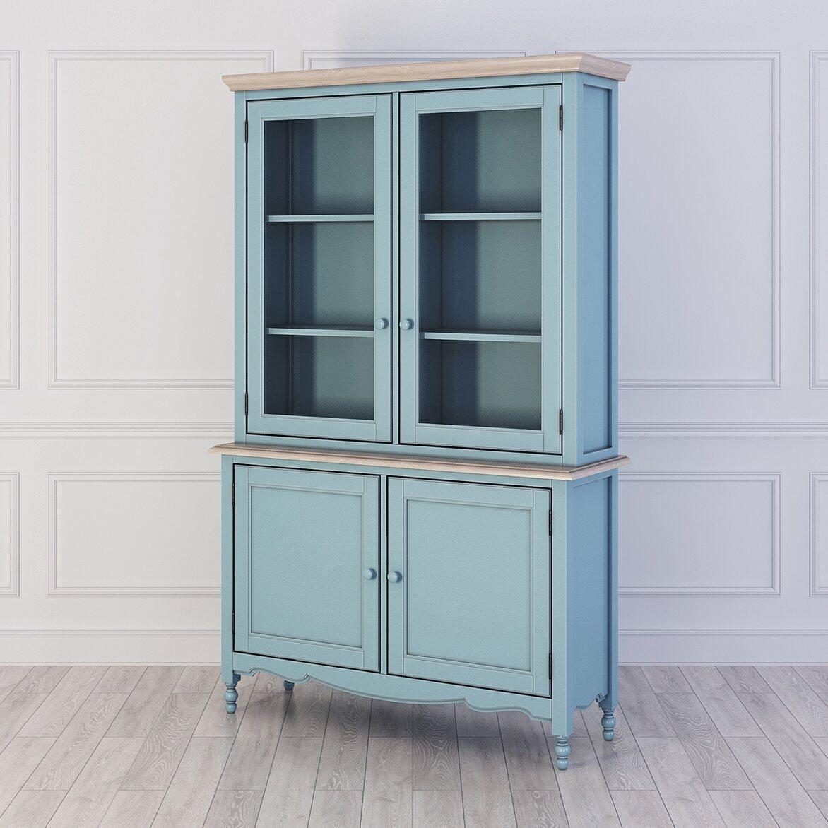 Буфет Leblanc, голубой | Буфеты Kingsby