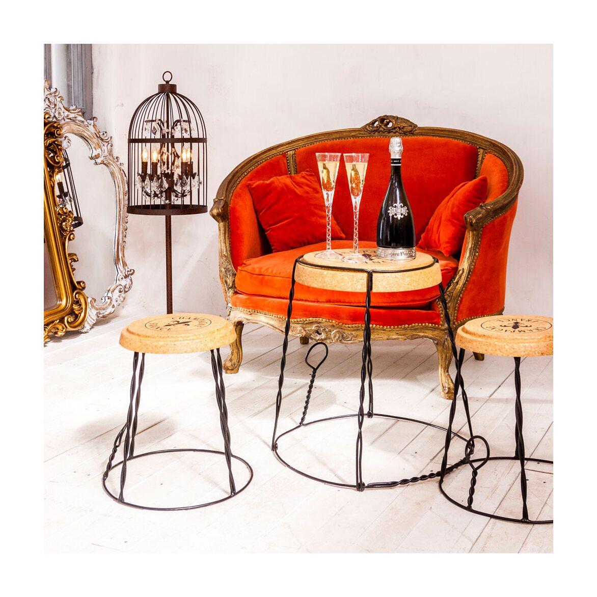 Столик «Champagne France», версия L 11 | Кофейные столики Kingsby