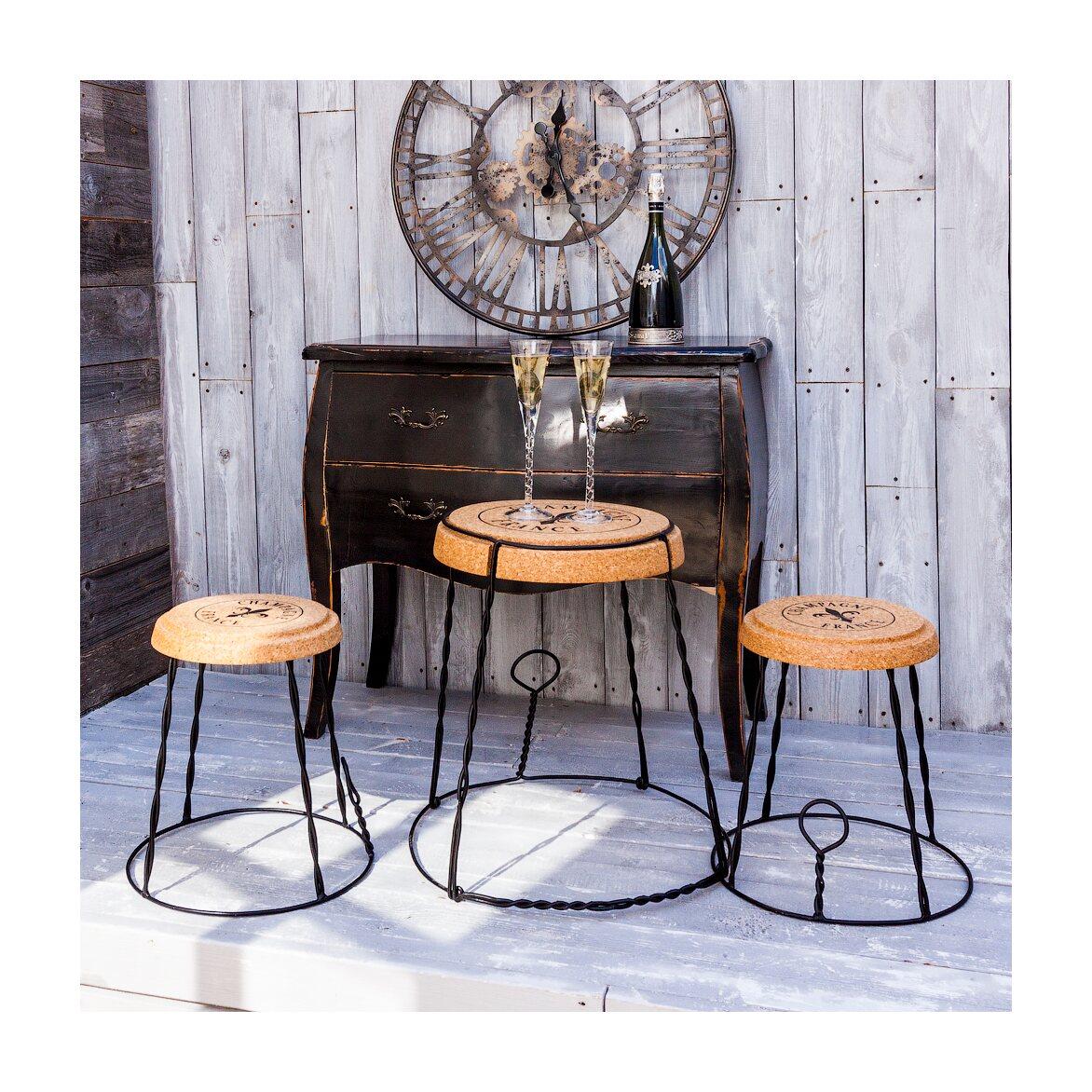 Столик «Champagne France», версия L 4 | Кофейные столики Kingsby