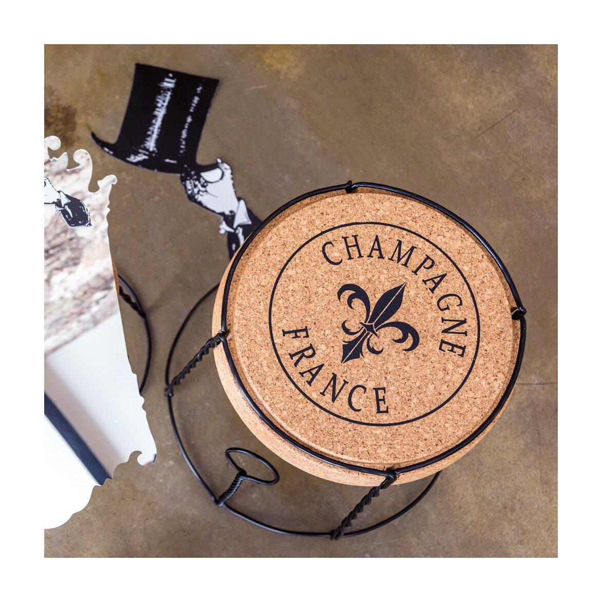Столик «Champagne France», версия L 8 | Кофейные столики Kingsby