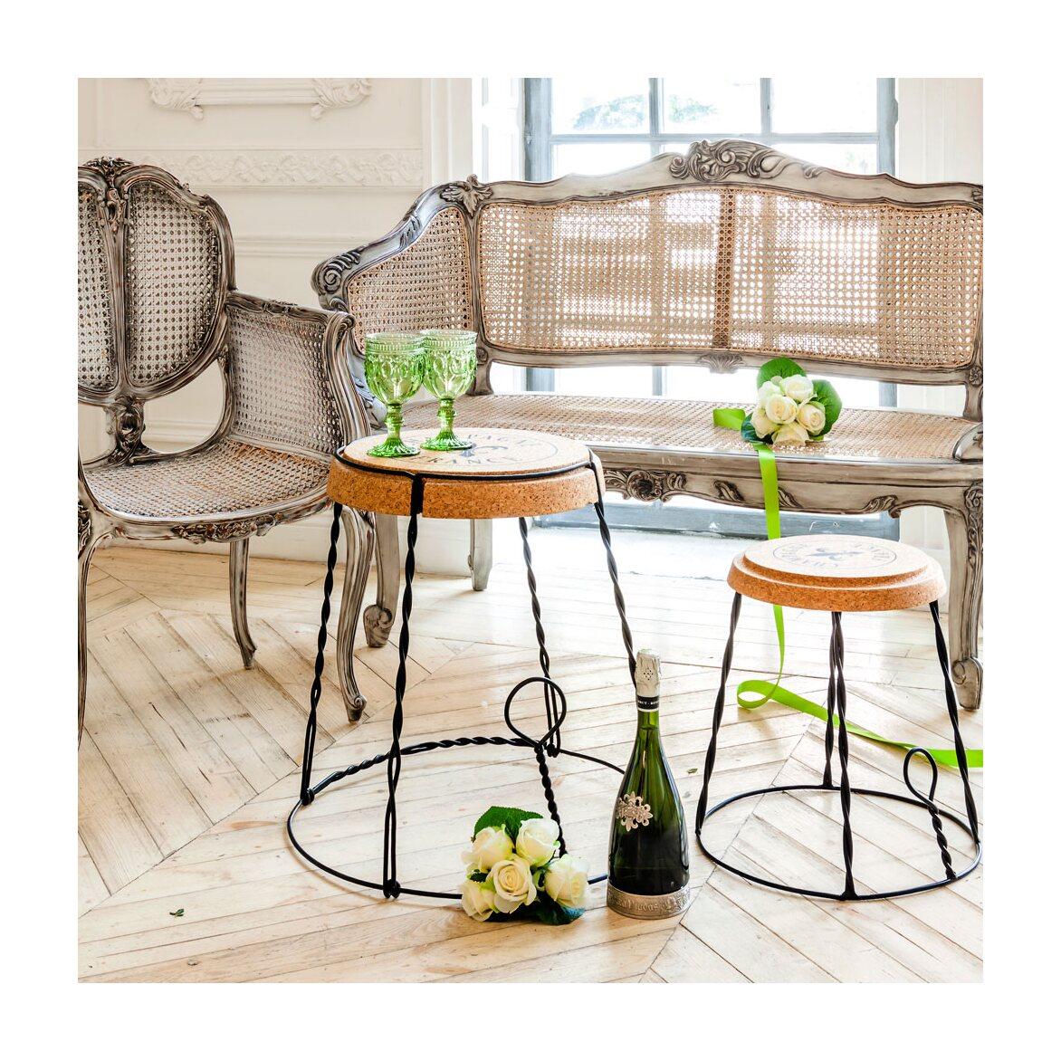 Столик «Champagne France», версия L 7 | Кофейные столики Kingsby
