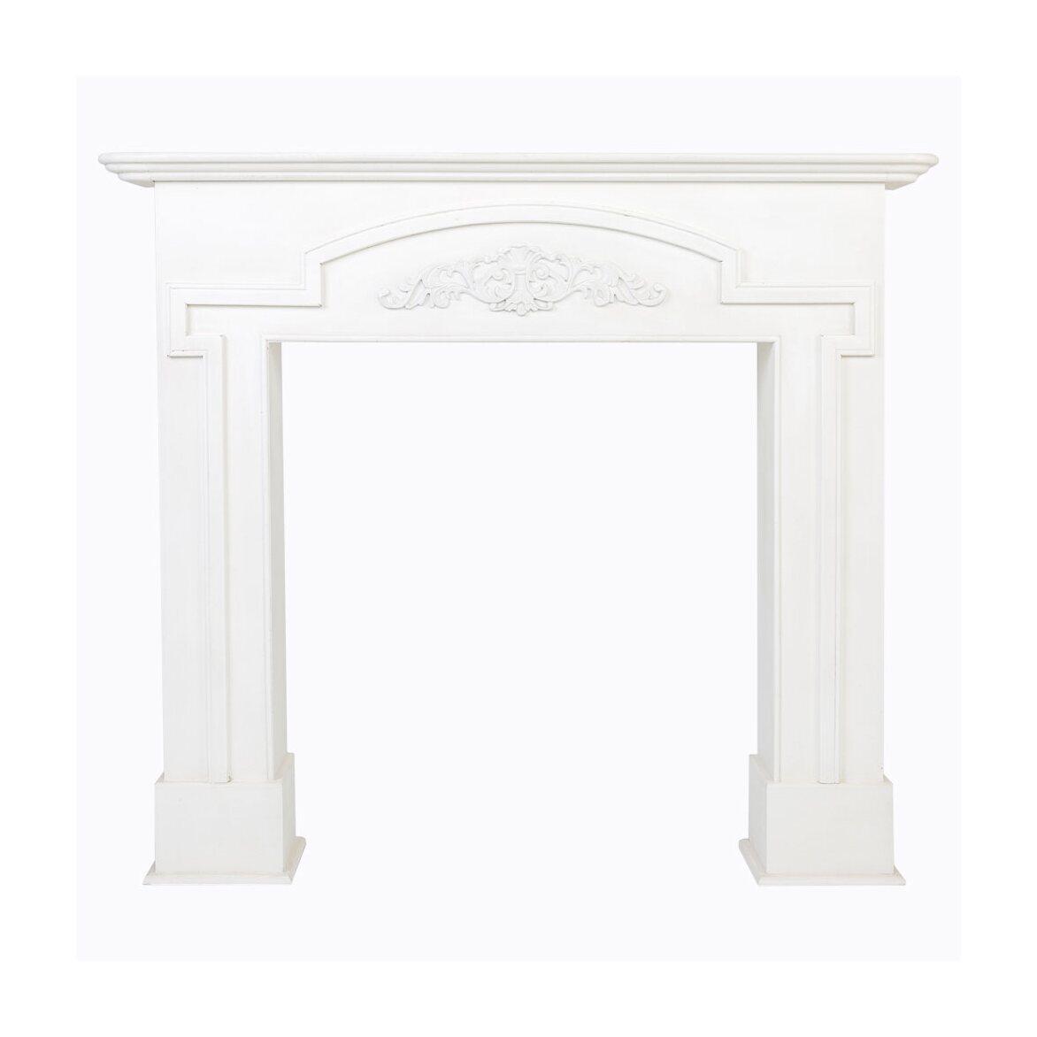 Каминный портал «Тюильри» (белый)   Декор Kingsby