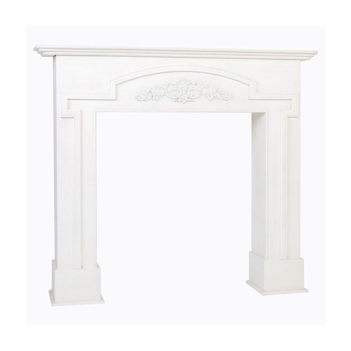 Каминный портал «Тюильри» (белый) 2   Декор Kingsby