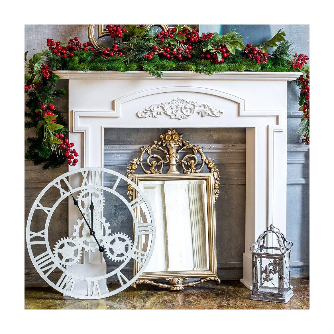 Каминный портал «Тюильри» (белый) 4   Декор Kingsby