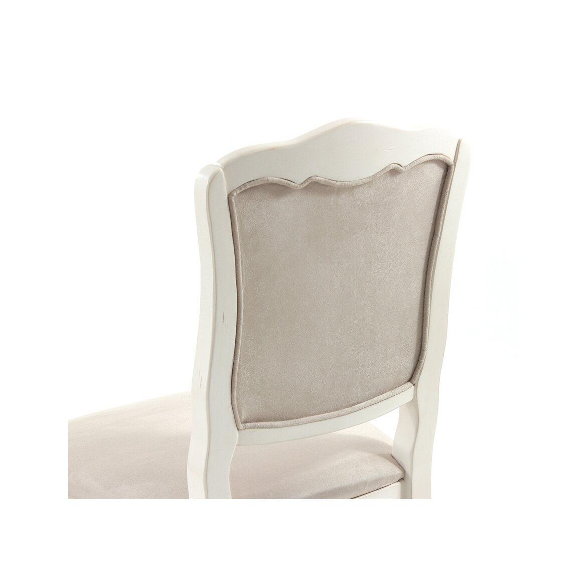 Стул с мягким сиденьем Leontina, бежевого цвета 7 | Обеденные стулья Kingsby
