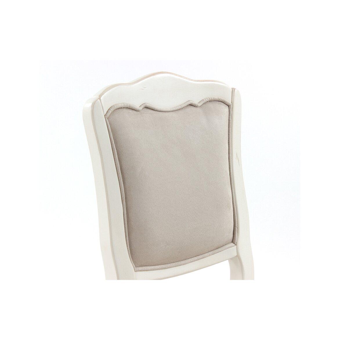 Стул с мягким сиденьем Leontina, бежевого цвета 2 | Обеденные стулья Kingsby