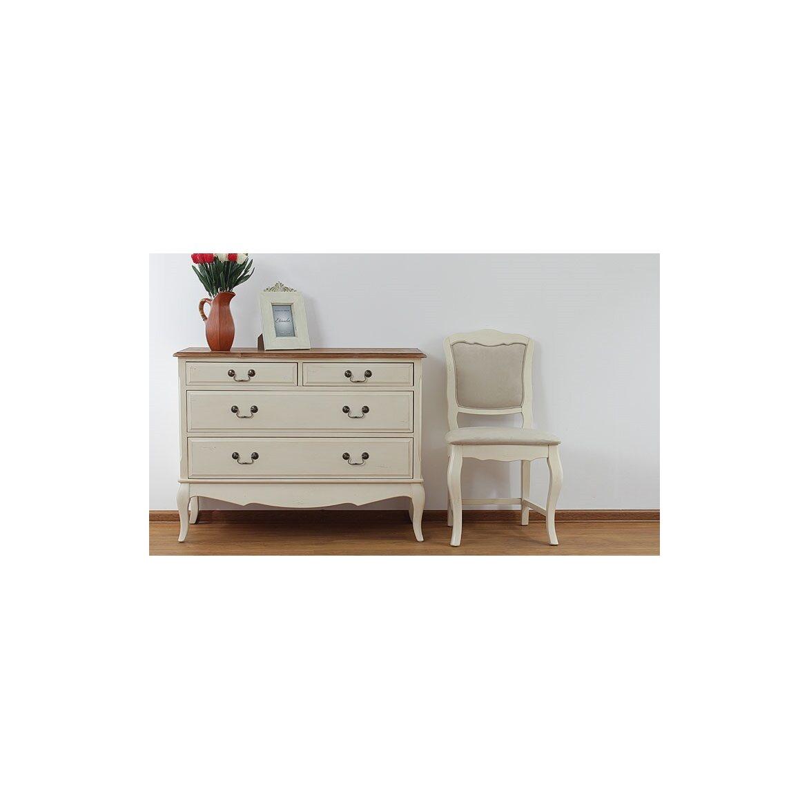 Стул с мягким сиденьем Leontina, бежевого цвета 9 | Обеденные стулья Kingsby