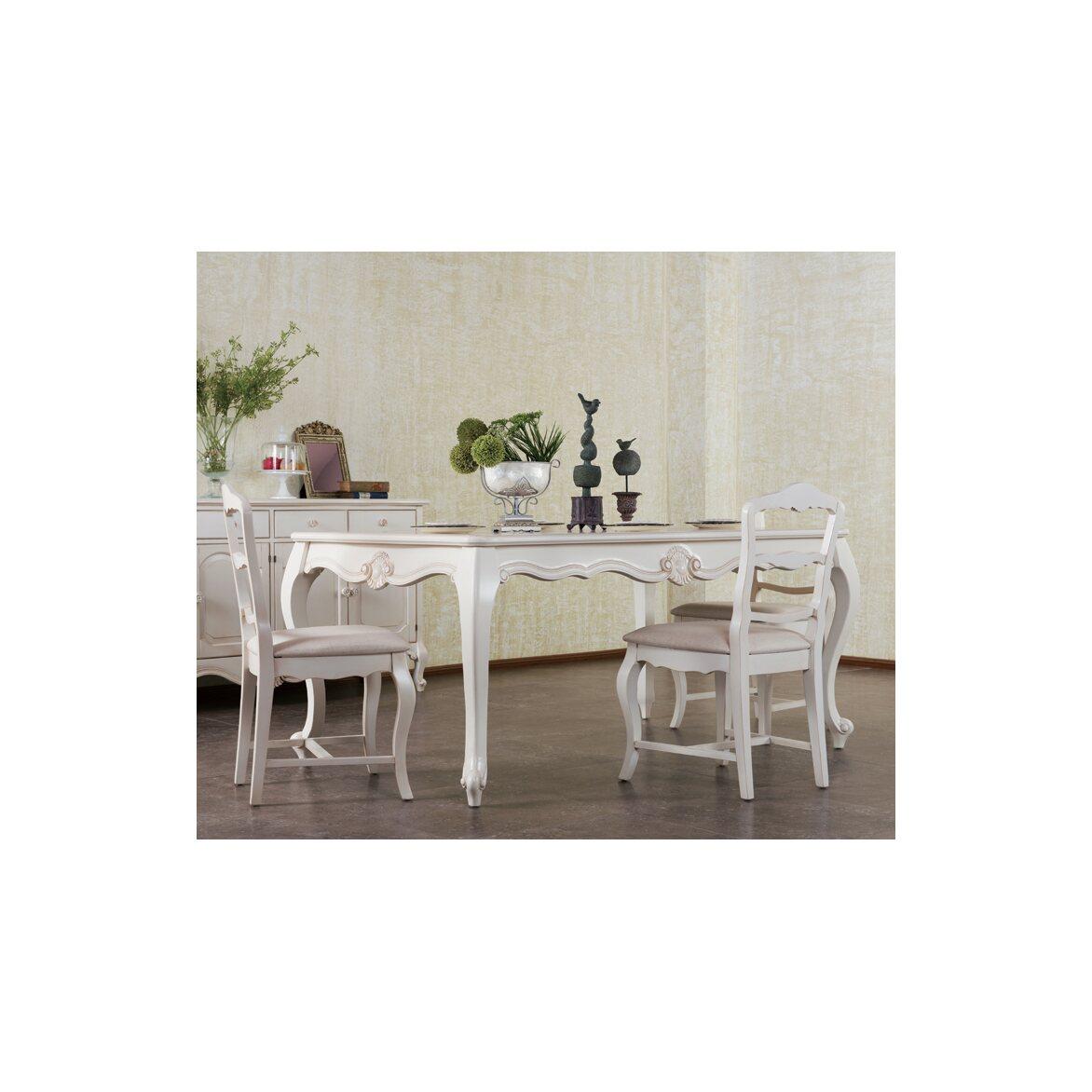 Стул с мягким сиденьем Leontina, бежевого цвета 8 | Обеденные стулья Kingsby