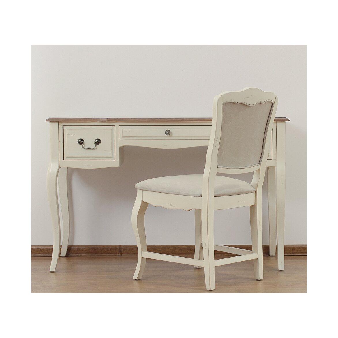 Стул с мягким сиденьем Leontina, бежевого цвета 6 | Обеденные стулья Kingsby