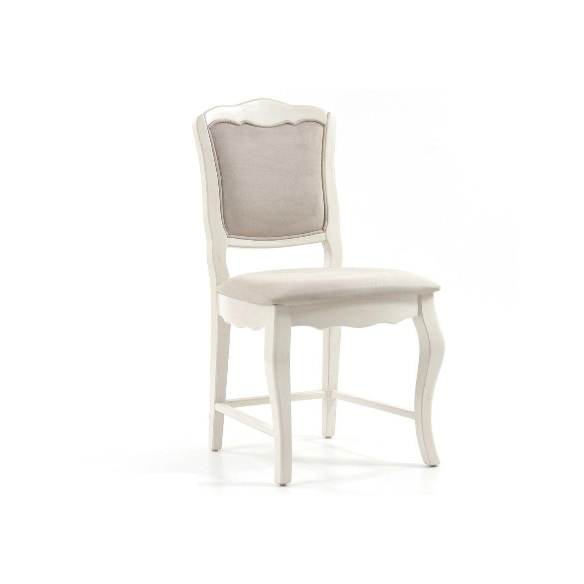 Стул с мягким сиденьем Leontina, бежевого цвета 3 | Обеденные стулья Kingsby