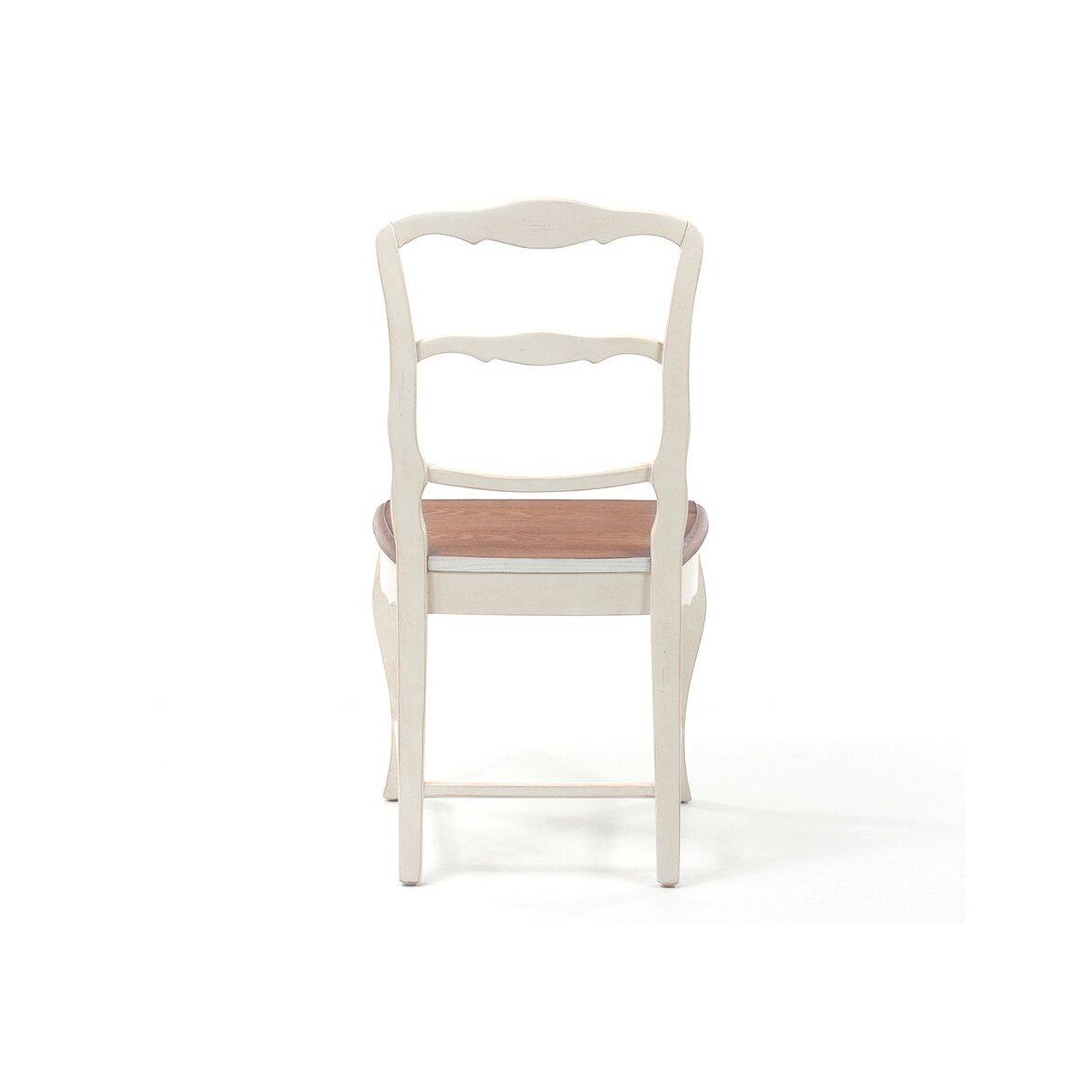 Стул с деревянным сиденьем Leontina, бежевого цвета 6   Обеденные стулья Kingsby