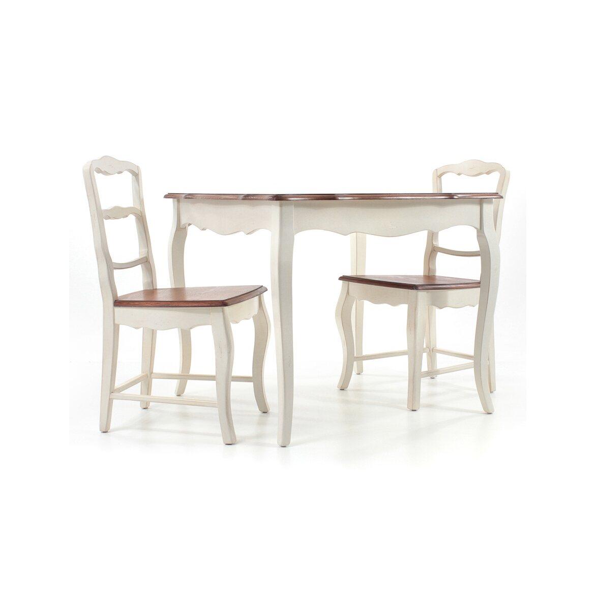 Стул с деревянным сиденьем Leontina, бежевого цвета 10   Обеденные стулья Kingsby