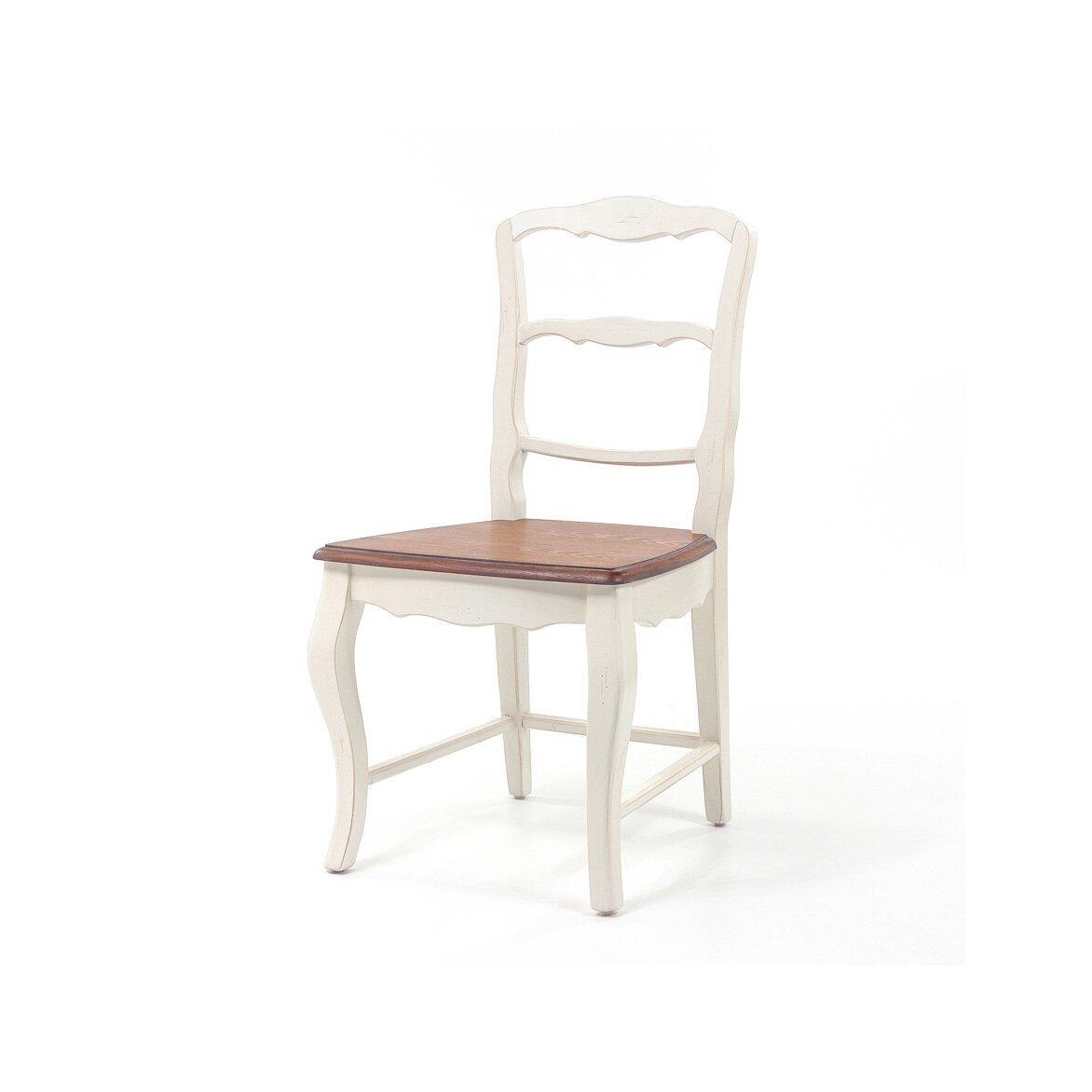 Стул с деревянным сиденьем Leontina, бежевого цвета 5   Обеденные стулья Kingsby
