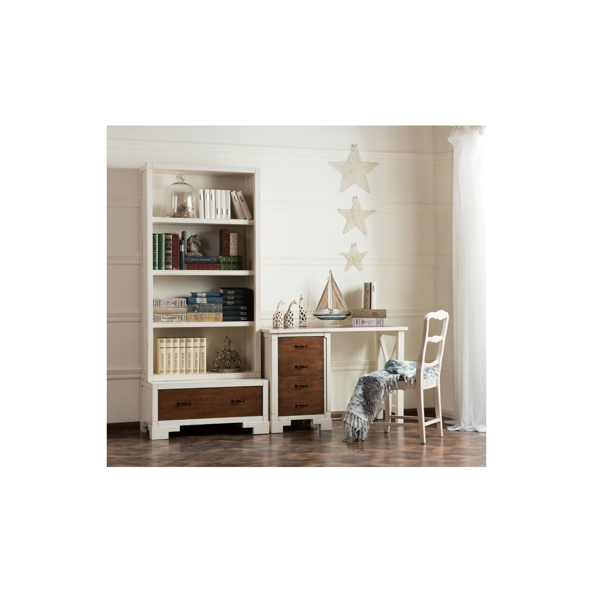 Стул с деревянным сиденьем Leontina, бежевого цвета 14   Обеденные стулья Kingsby