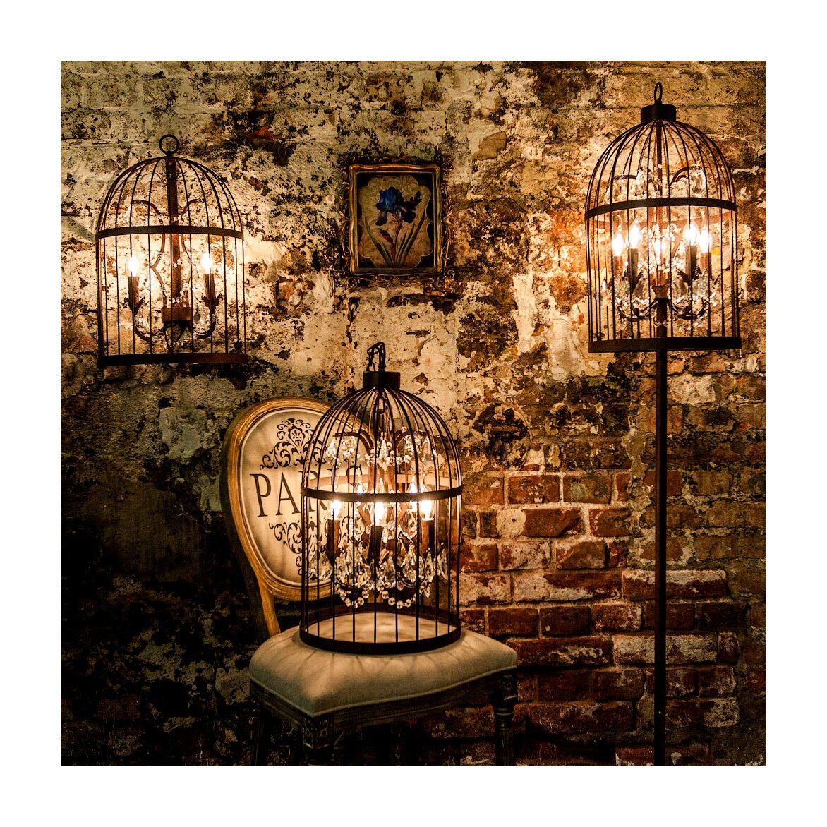 Настенный светильник «Тюильри» (черный антик) 3 | Бра Kingsby