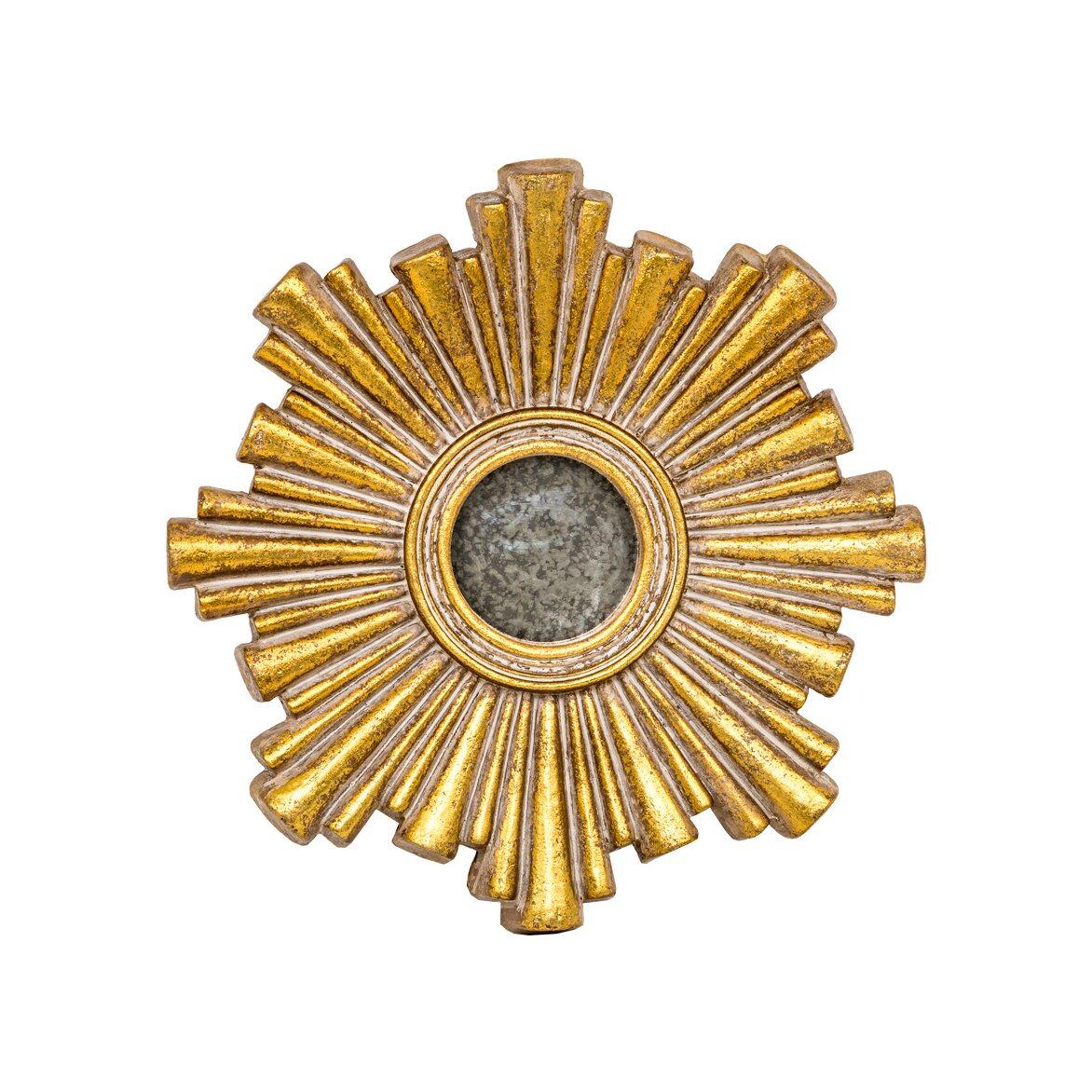 Декоративное зеркальное украшение настенное «Олимп»   Настенные зеркала Kingsby