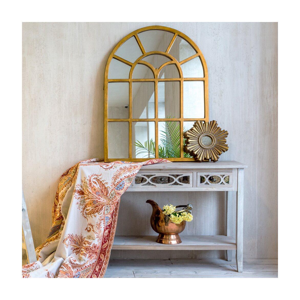 Декоративное зеркальное украшение настенное «Олимп» 5   Настенные зеркала Kingsby