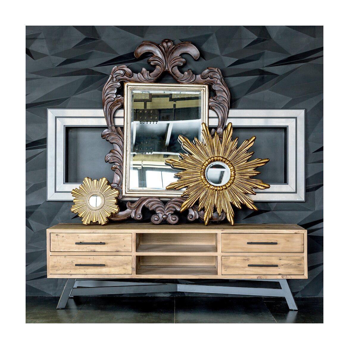 Декоративное зеркальное украшение настенное «Олимп» 6   Настенные зеркала Kingsby