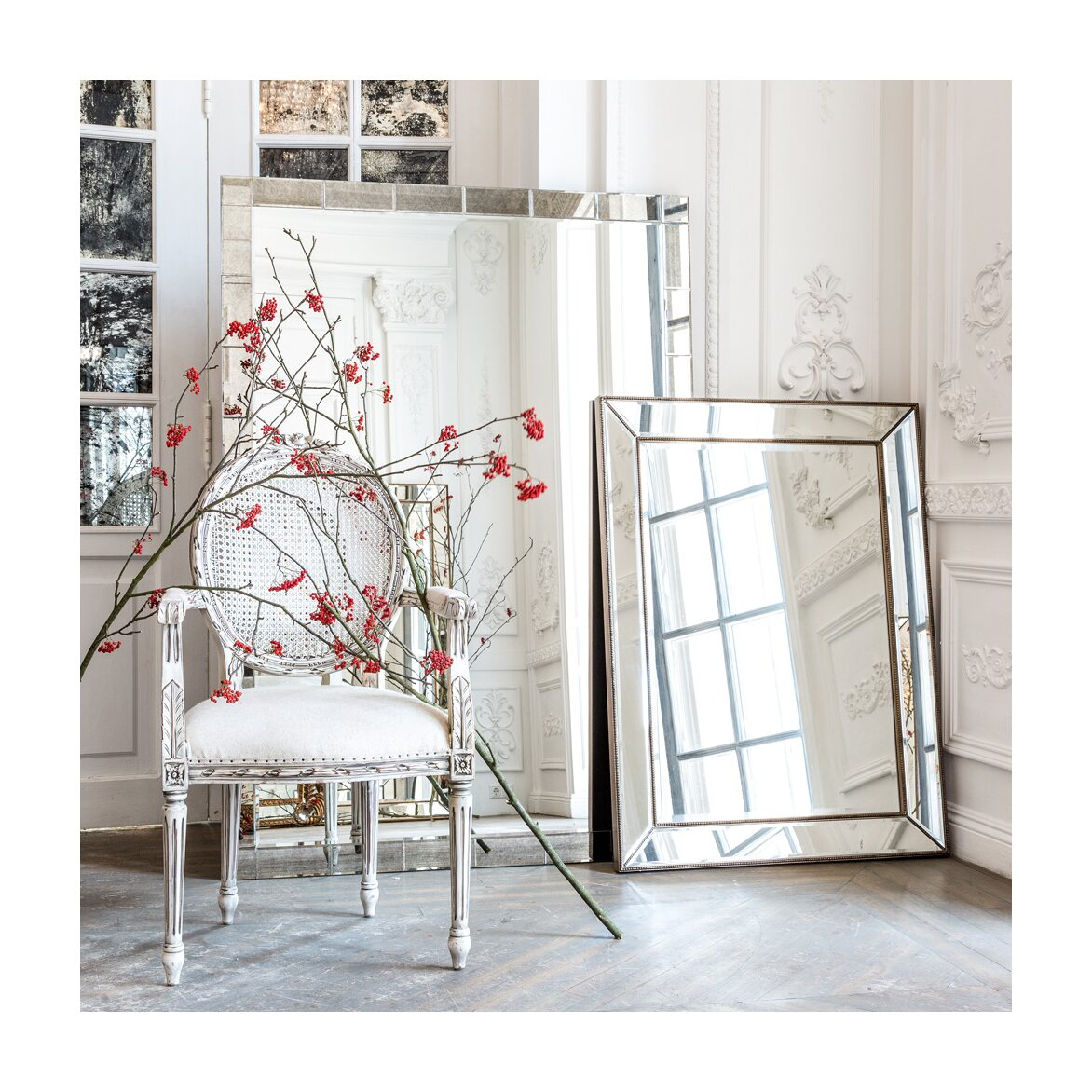 Настенное зеркало «Жаклин» 4 | Настенные зеркала Kingsby