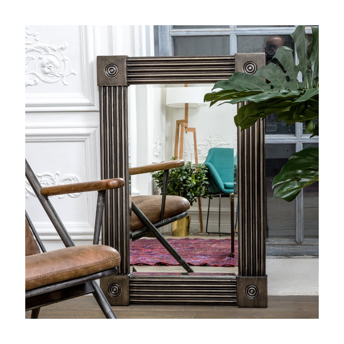 Настенное зеркало «Клейтон» 3   Настенные зеркала Kingsby