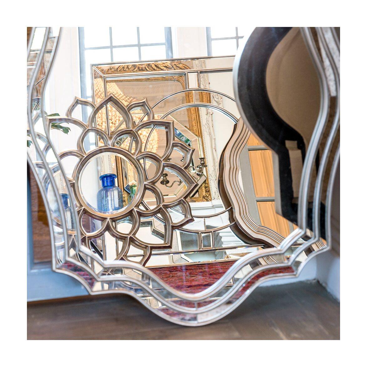 Настенное зеркало «Саммервилл» 3 | Настенные зеркала Kingsby