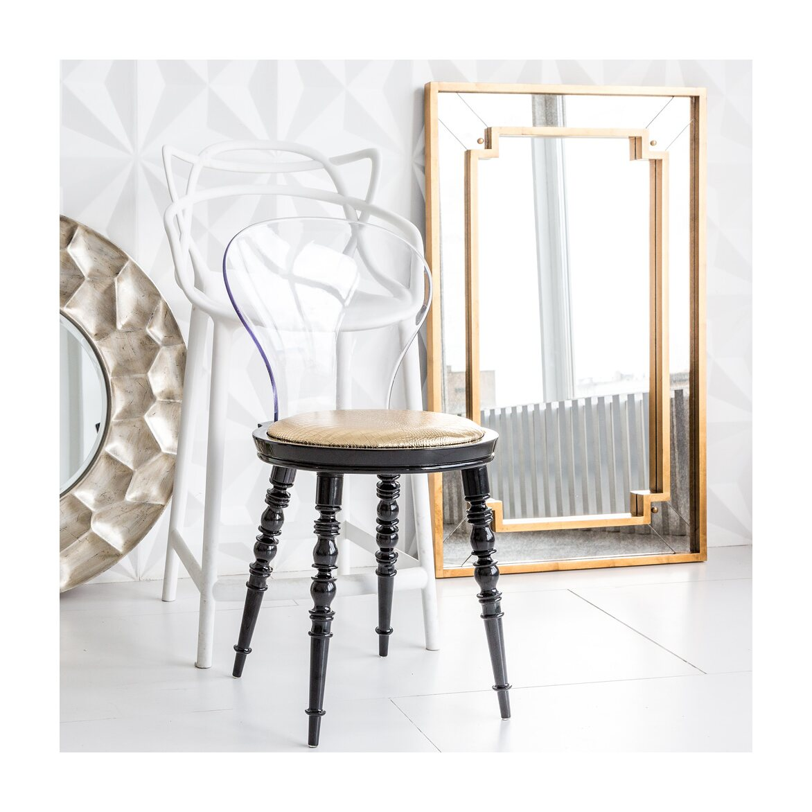 Настенное зеркало «Саттон» 4 | Настенные зеркала Kingsby