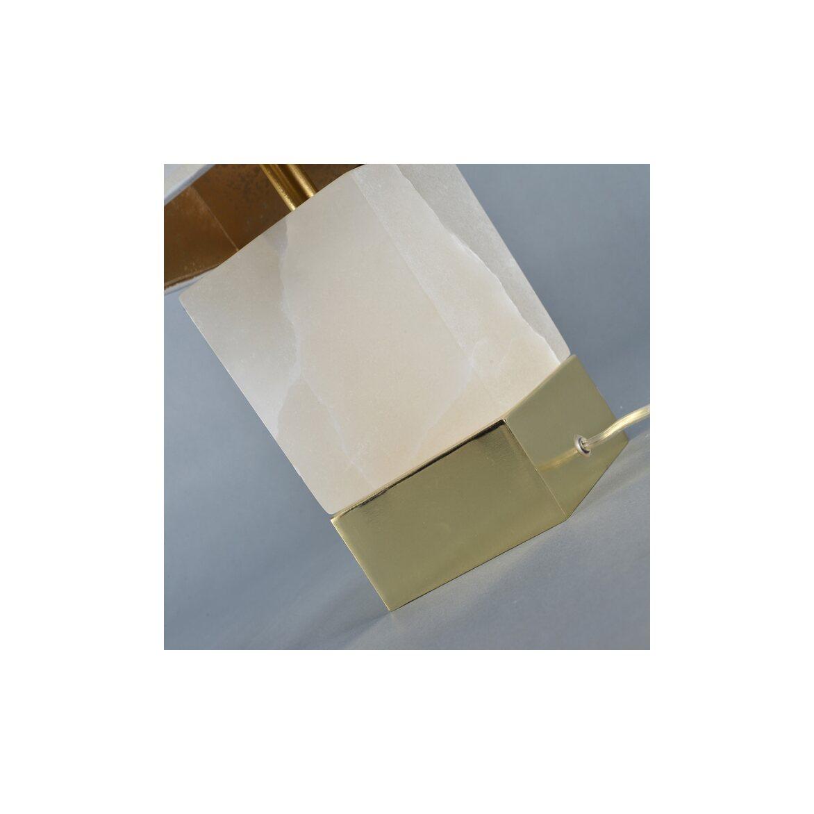Настольная лампа «Каррара» 3   Настольные лампы Kingsby