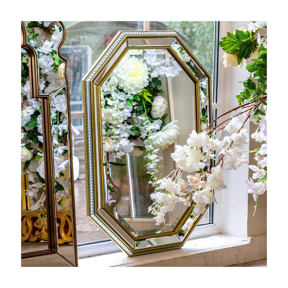 Настенное зеркало «Капелла» 4   Настенные зеркала Kingsby