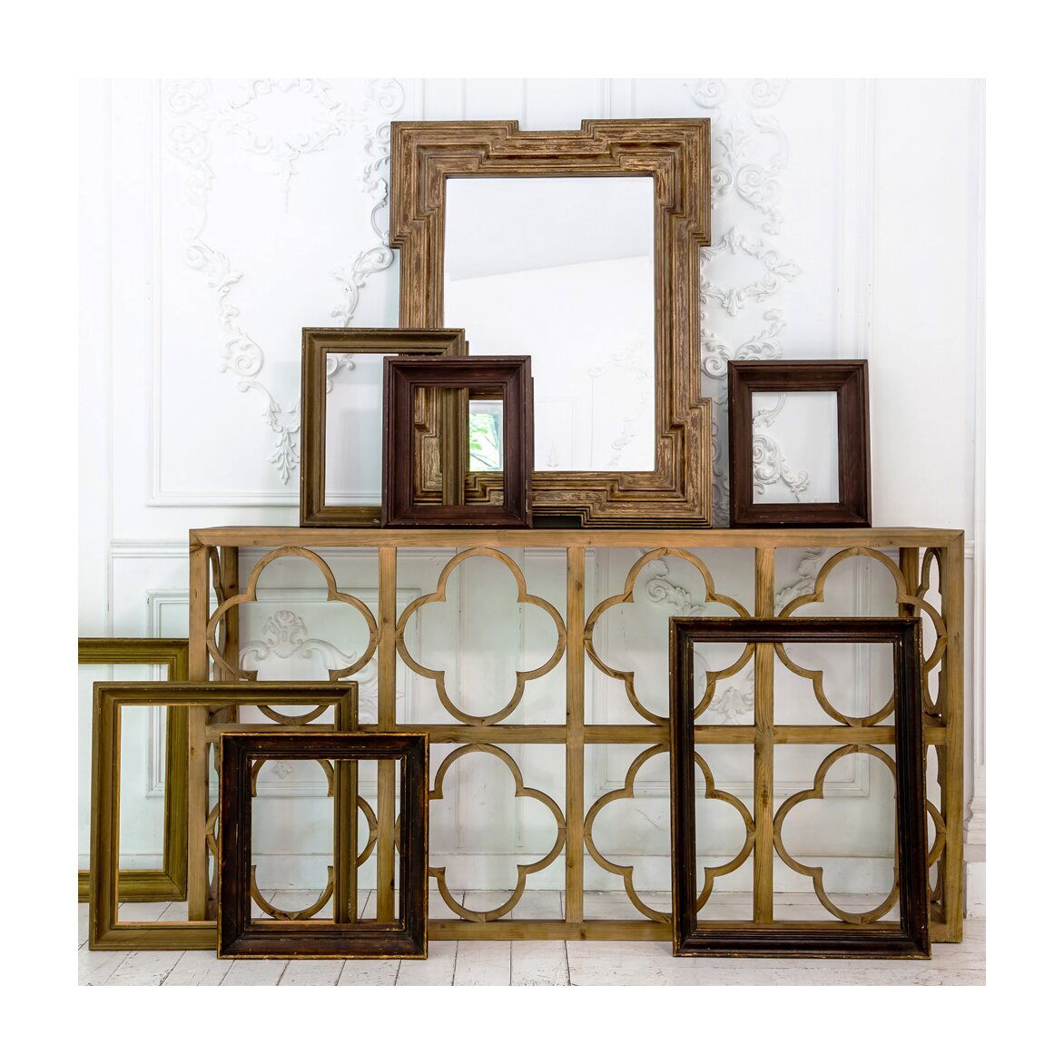 Настенное зеркало «Карфаген» 2 | Настенные зеркала Kingsby