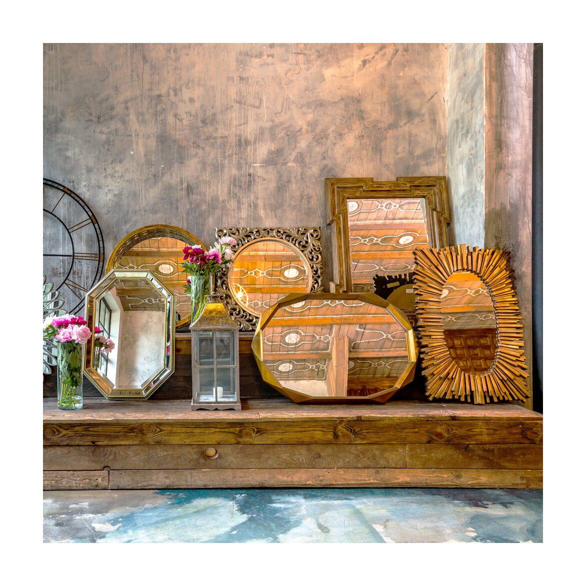 Настенное зеркало «Карфаген» 6 | Настенные зеркала Kingsby