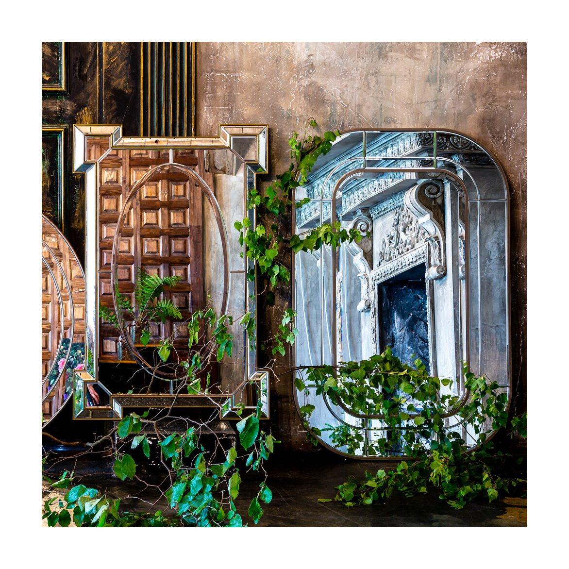 Настенное зеркало «Сати» 3 | Настенные зеркала Kingsby