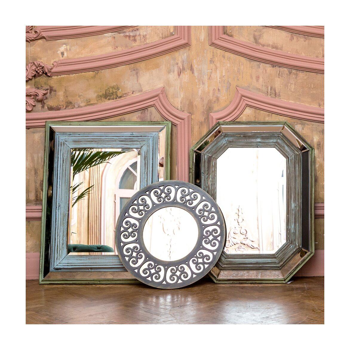 Настенное зеркало «Бомбей» 2 | Настенные зеркала Kingsby