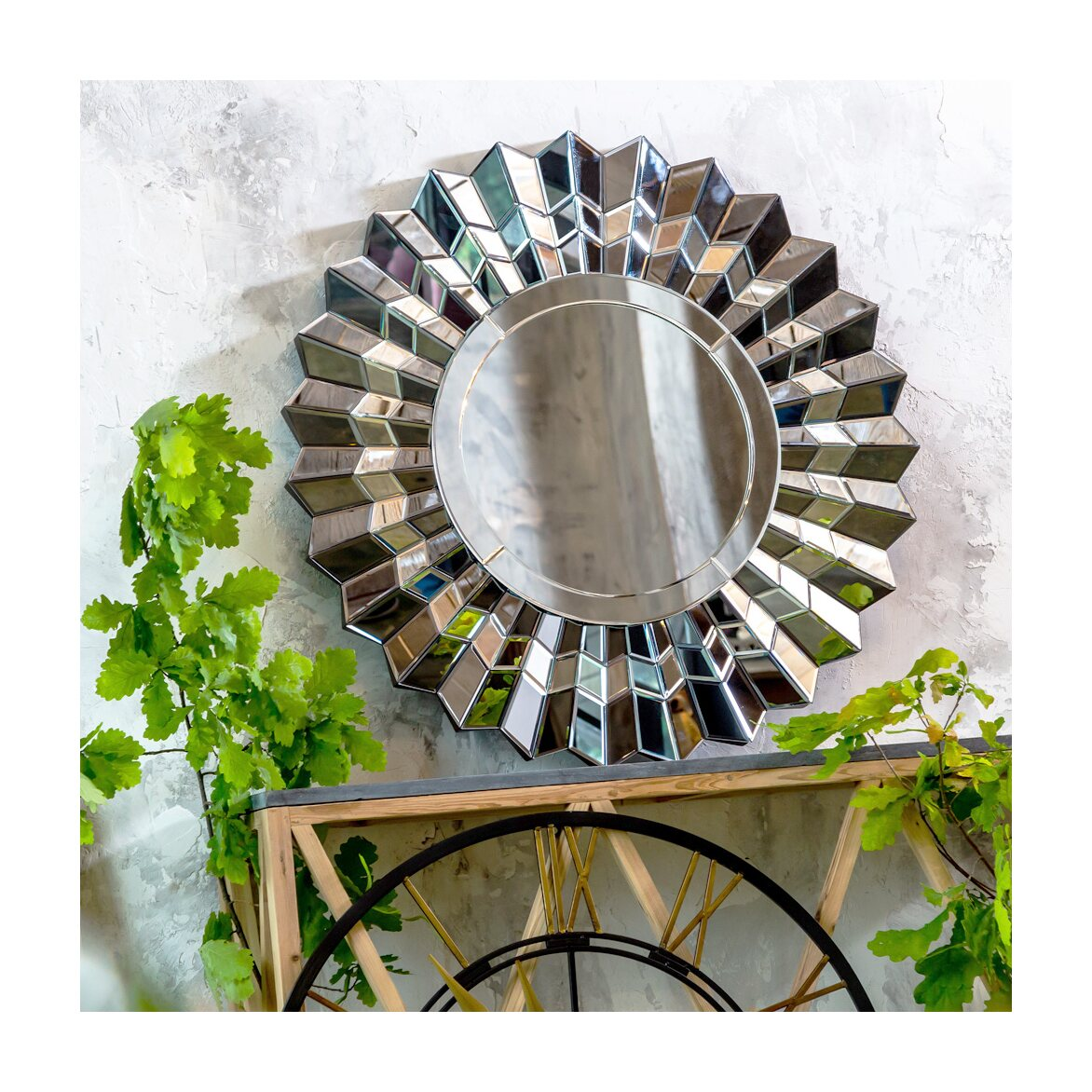 Настенное зеркало «Арктур» 2   Настенные зеркала Kingsby