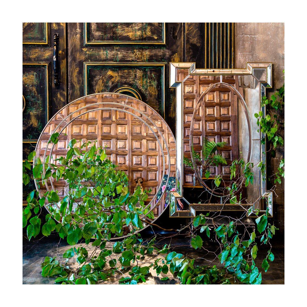 Настенное зеркало «Камелот» 2   Настенные зеркала Kingsby