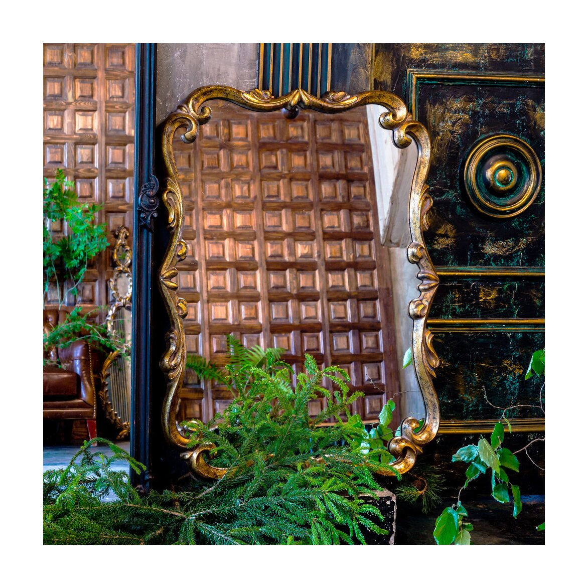 Настенное зеркало «Паскаль» 2 | Настенные зеркала Kingsby