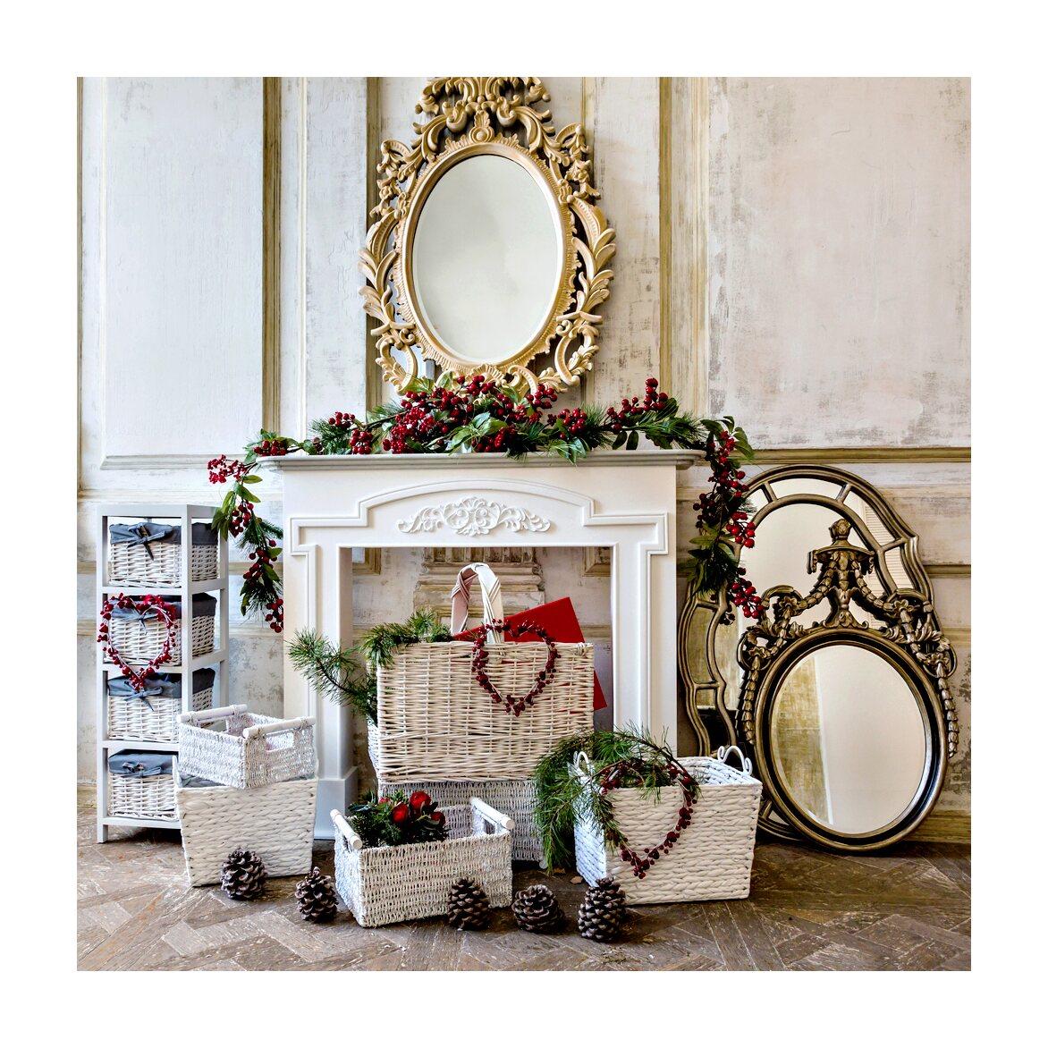 Настенное зеркало «Марлен» 4 | Настенные зеркала Kingsby
