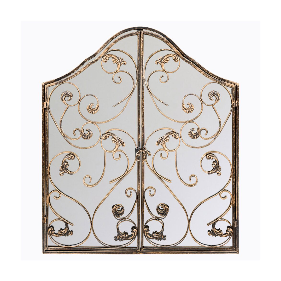 Настенное зеркало «Монтанер» (королевская бронза) | Настенные зеркала Kingsby