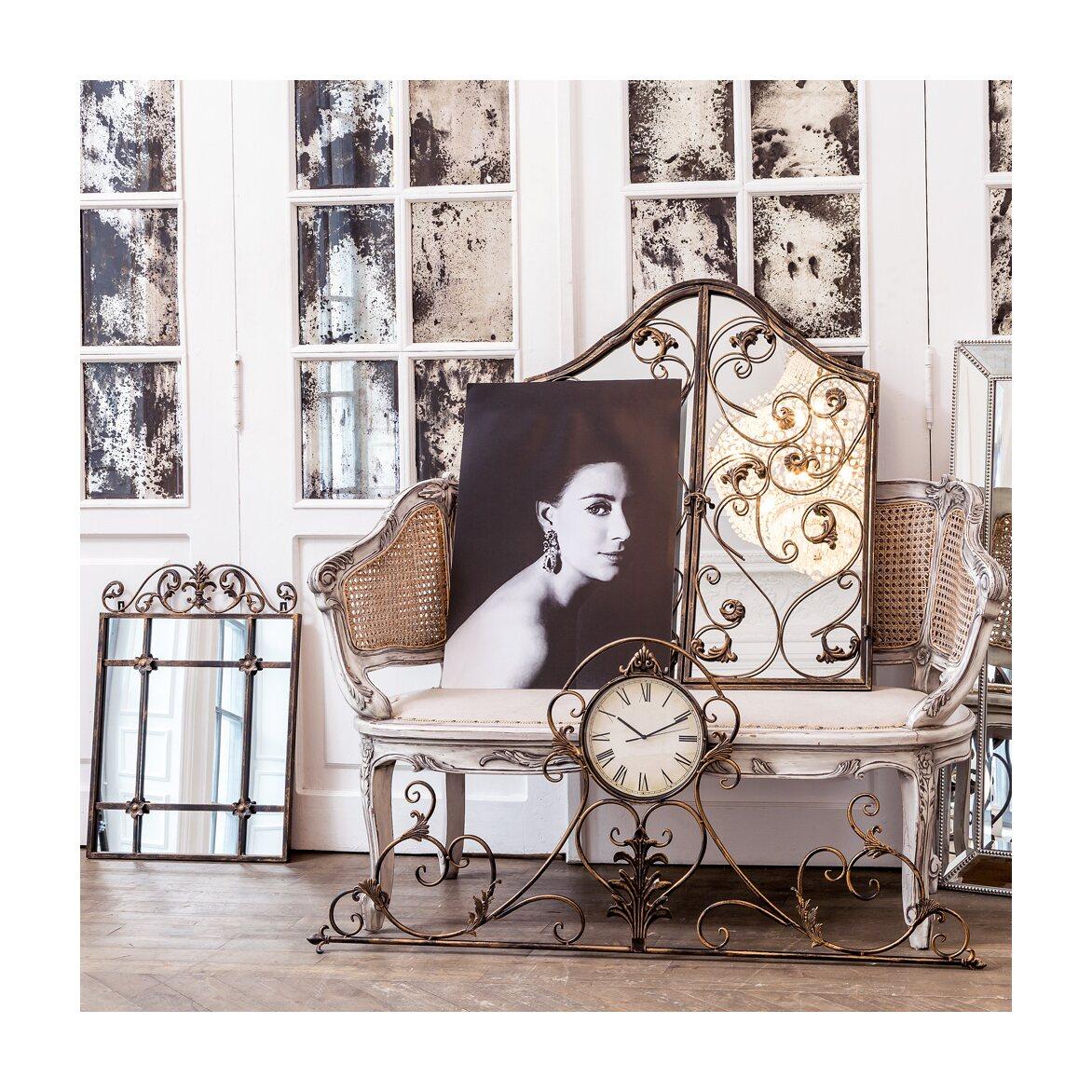 Настенное зеркало «Монтанер» (королевская бронза) 6 | Настенные зеркала Kingsby