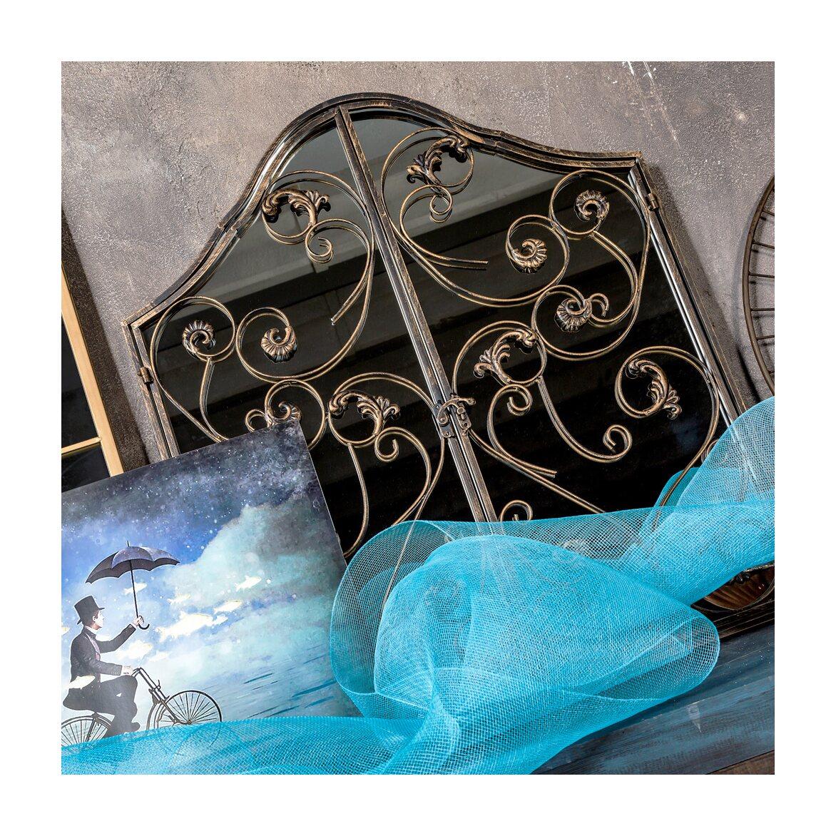 Настенное зеркало «Монтанер» (королевская бронза) 8 | Настенные зеркала Kingsby
