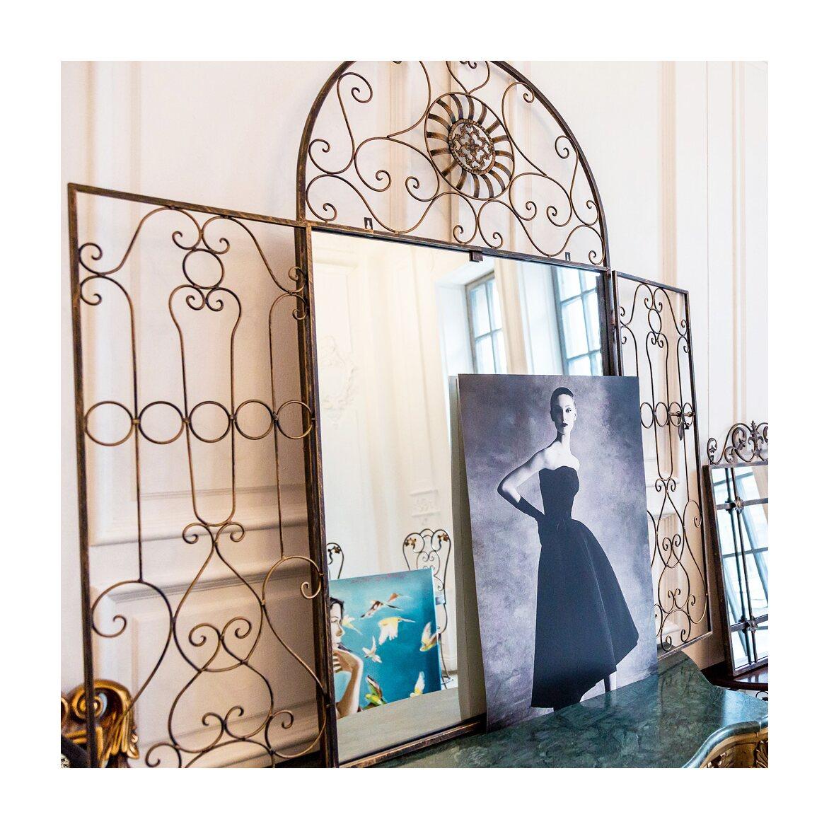 Настенное зеркало «Дивон» (королевская бронза) 6 | Настенные зеркала Kingsby
