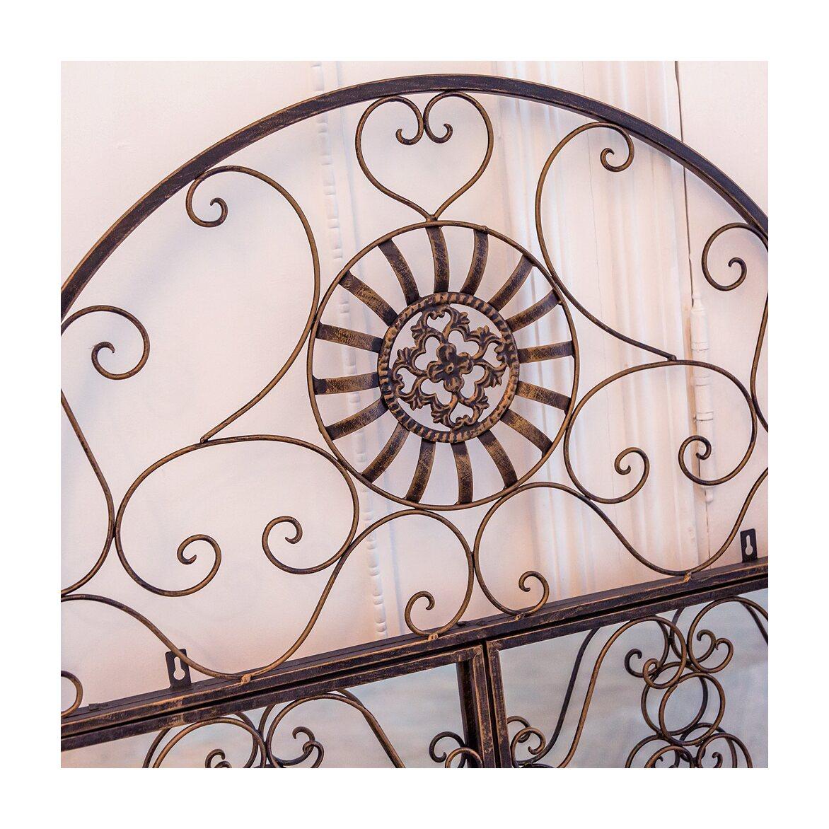 Настенное зеркало «Дивон» (королевская бронза) 10 | Настенные зеркала Kingsby