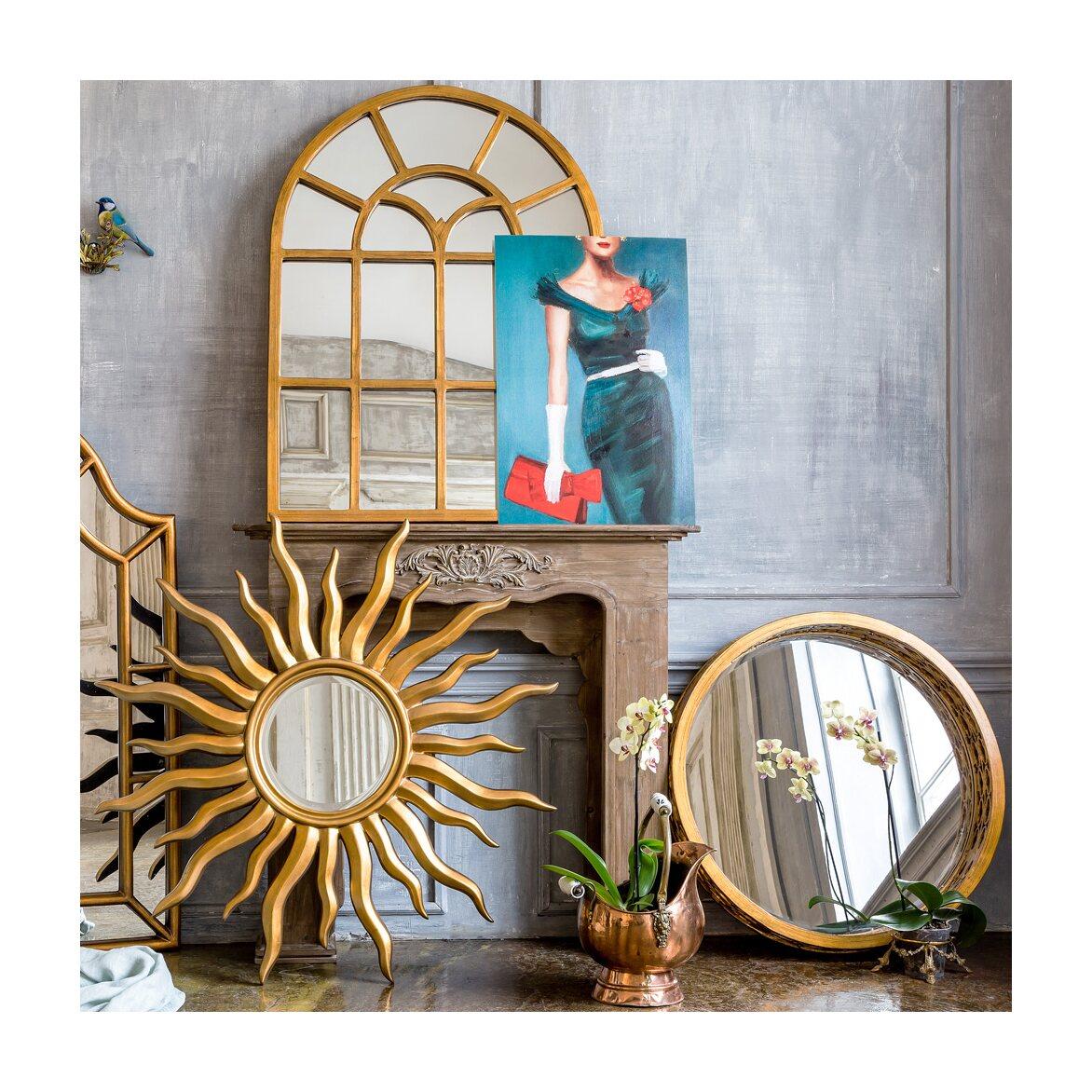 Настенное зеркало «Круазе» 5 | Настенные зеркала Kingsby