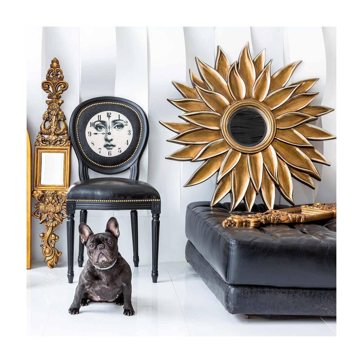Настенное зеркало «Эйфель» 8 | Настенные зеркала Kingsby