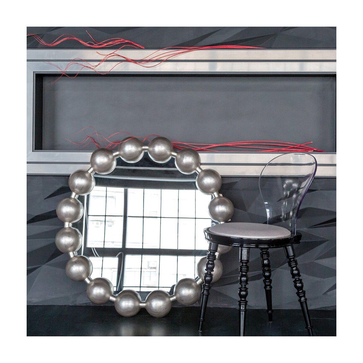 Настенное зеркало «Виконтесса Силвер» 5 | Настенные зеркала Kingsby