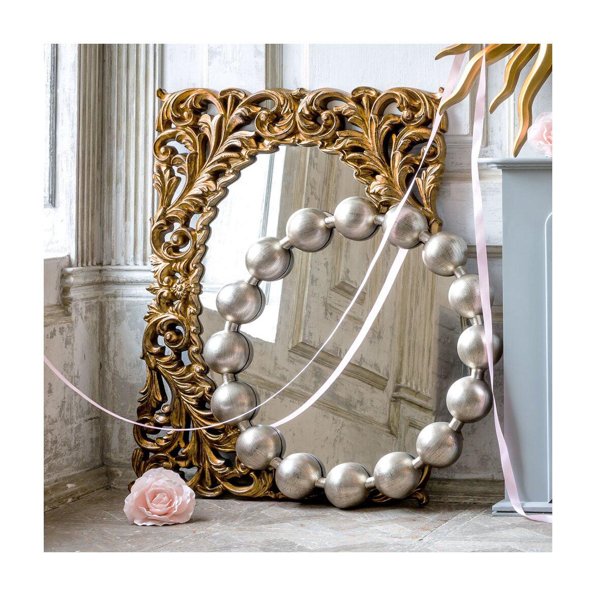 Настенное зеркало «Виконтесса Силвер» 10 | Настенные зеркала Kingsby