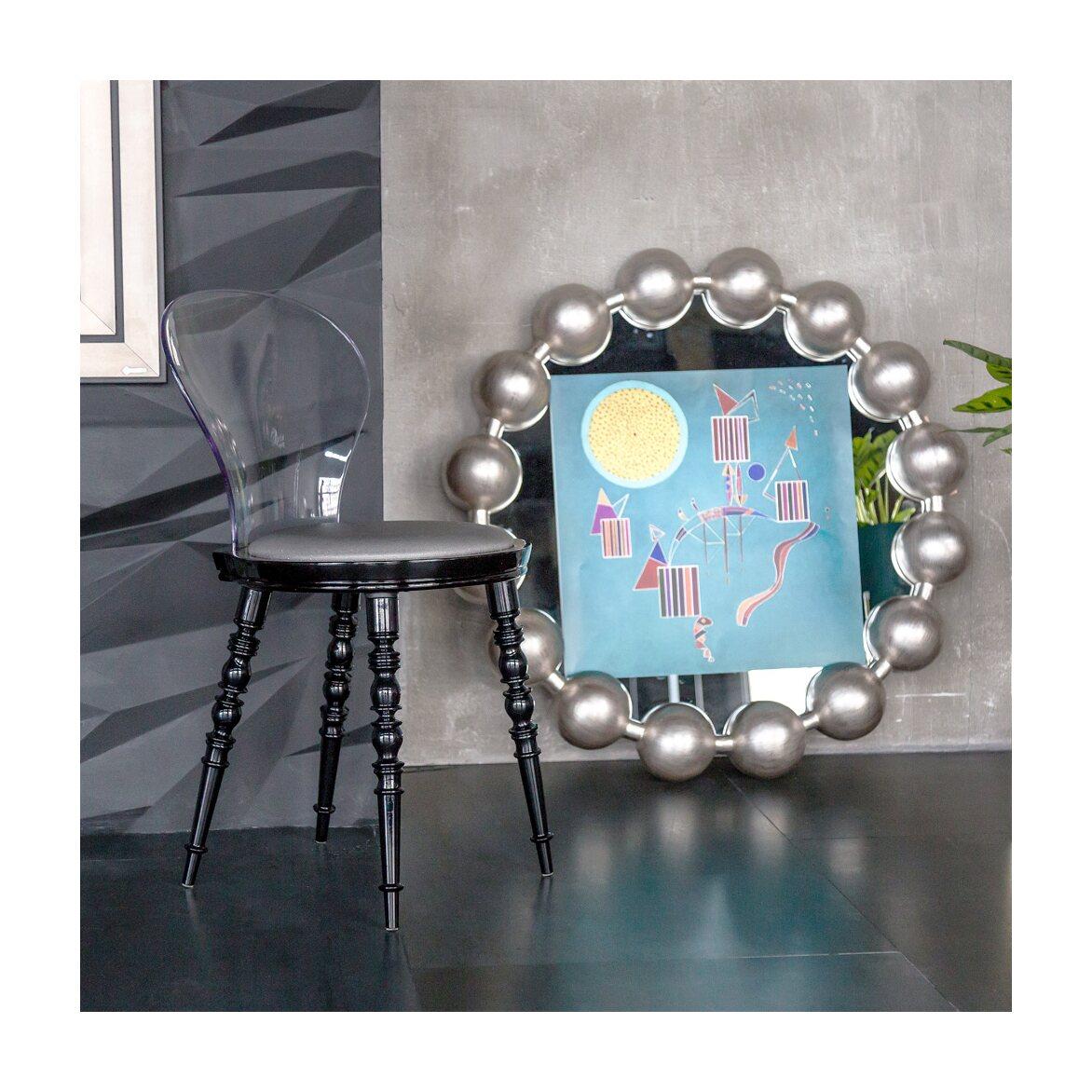 Настенное зеркало «Виконтесса Силвер» 9 | Настенные зеркала Kingsby