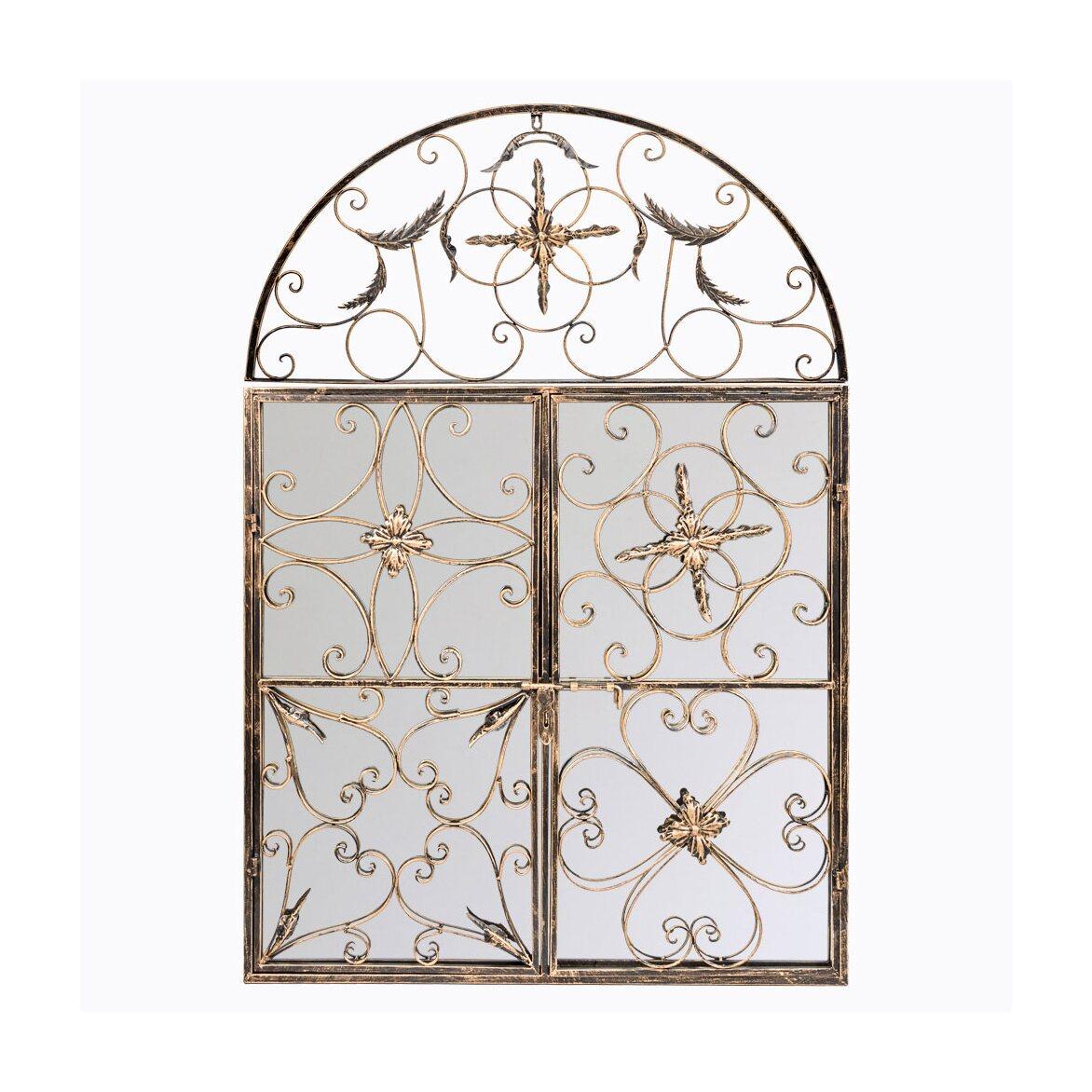 Настенное зеркало «Бизе» (королевская бронза)   Настенные зеркала Kingsby