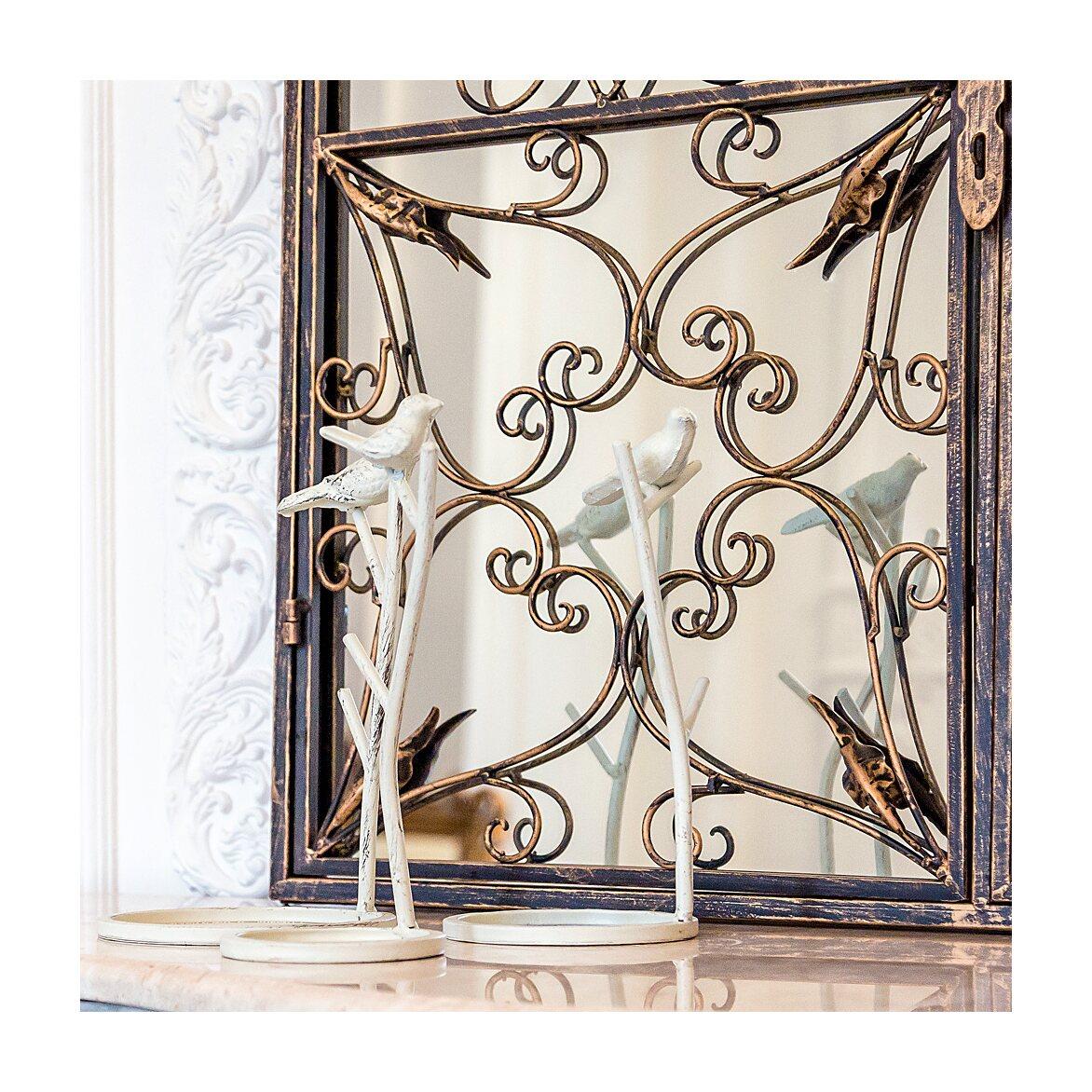 Настенное зеркало «Бизе» (королевская бронза) 5   Настенные зеркала Kingsby
