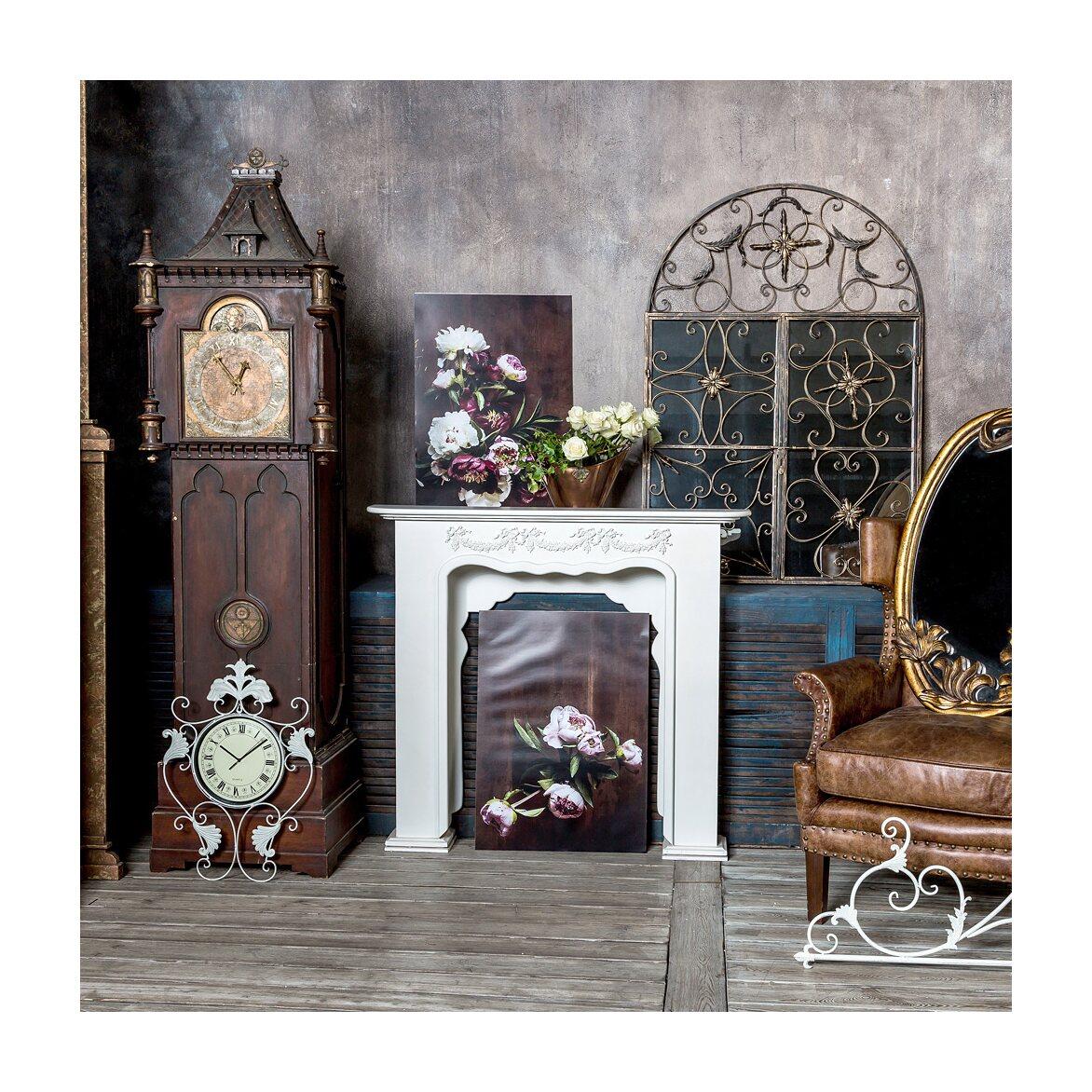 Настенное зеркало «Бизе» (королевская бронза) 6   Настенные зеркала Kingsby