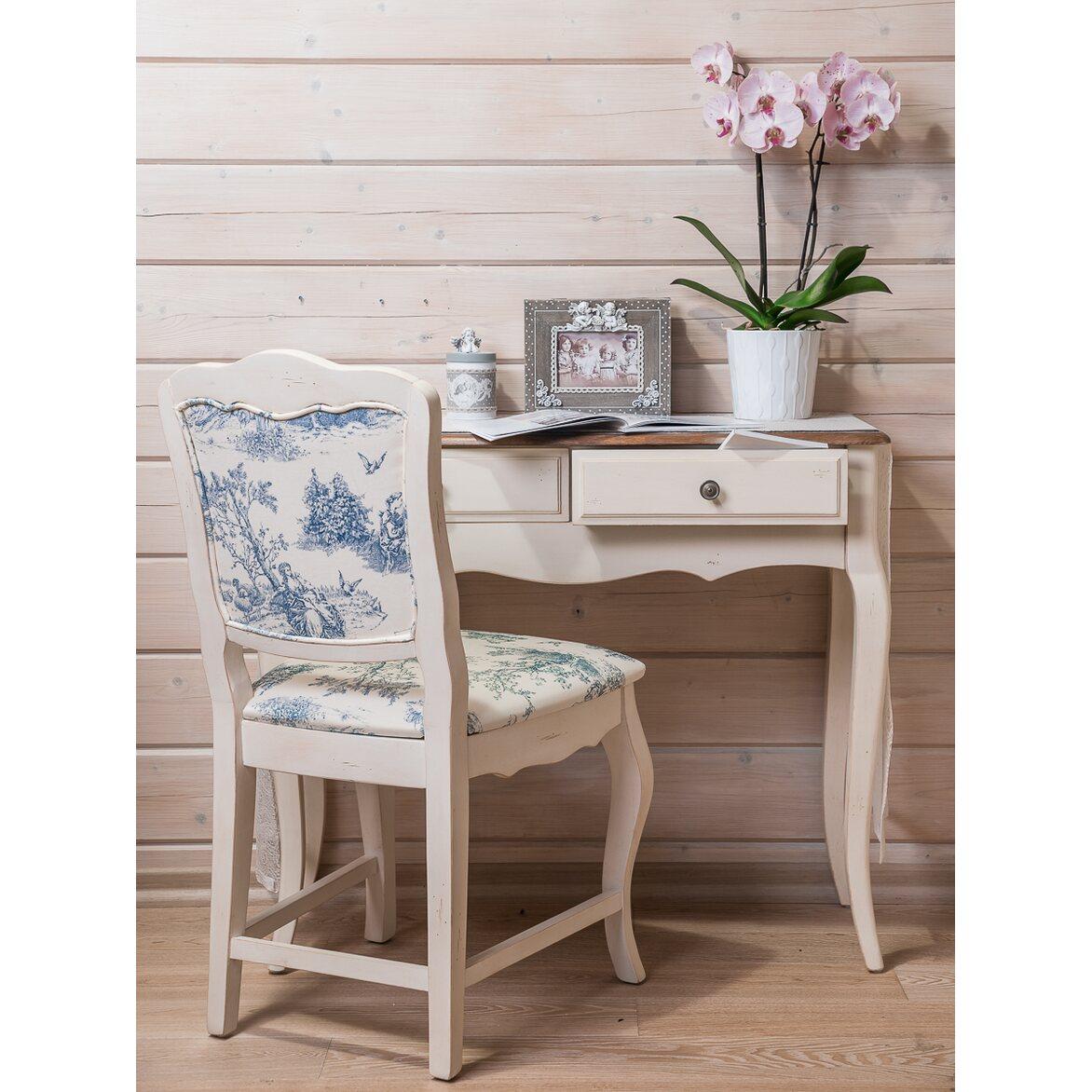 Стул Leontina с мягким сиденьем, бежевого цвета 3 | Обеденные стулья Kingsby